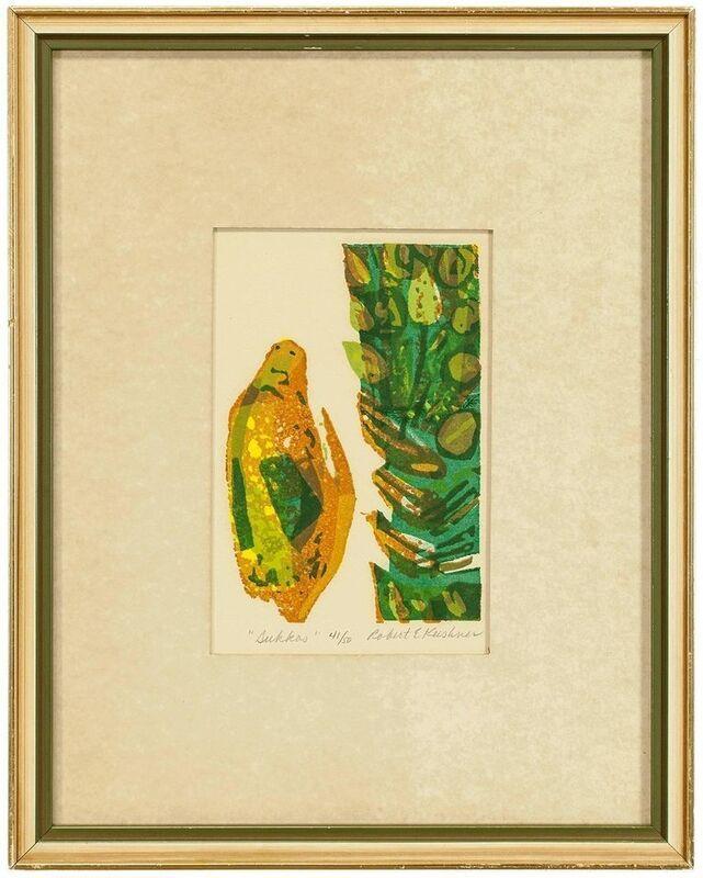 Robert Kushner, 'Sukkos', 1990-1999, Print, Color Print, Paper, Lions Gallery