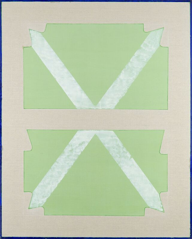 Stefano Cumia, 'SCP X - 1', 2014, Painting, Egg tempera, oil, plaster pigment on linen, Rizzutogallery