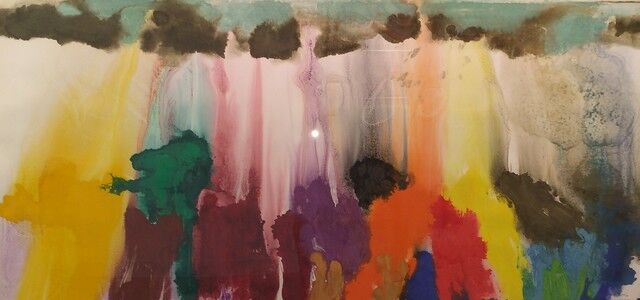 Friedel Dzubas (1915-1994), 'Untitled', ca. 1985