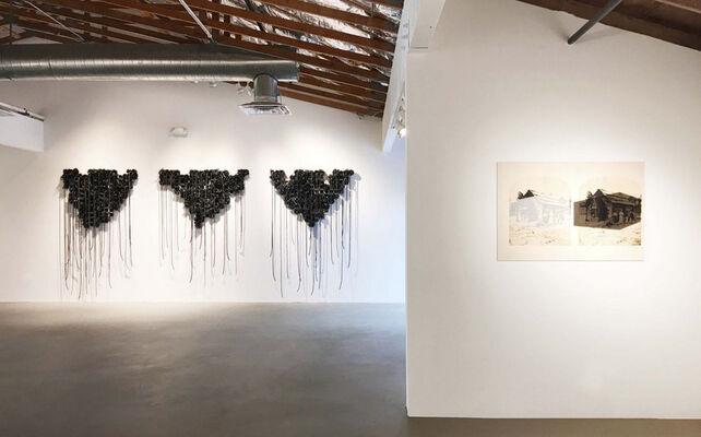 Eli Baxter + Jeremy Dean, installation view