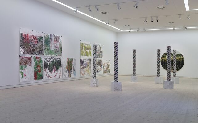 Pilgrimage for an Armchair Explorer, installation view