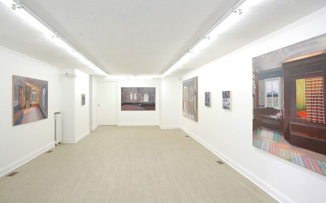 Back In A Moment, installation view
