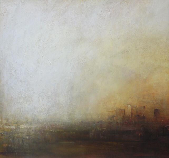 Benjamin Warner, 'Greenwich, Towards Canary Wharf', 2017