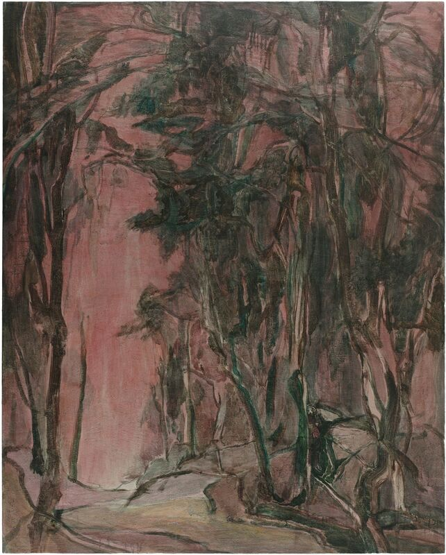 Wang Yabin, ' Big Bird', 2017, Painting, Mixed media on canvas, Aye Gallery