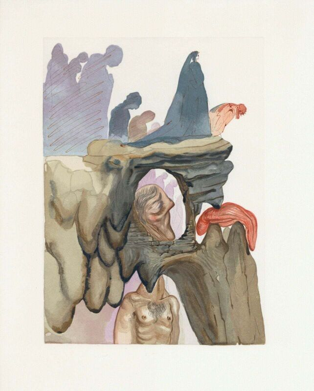 Salvador Dalí, 'Hell Canto #23, The Divine Comedy (Field 200)', 1959-1964, Print, Engraving on BFK Rives paper, Art Commerce