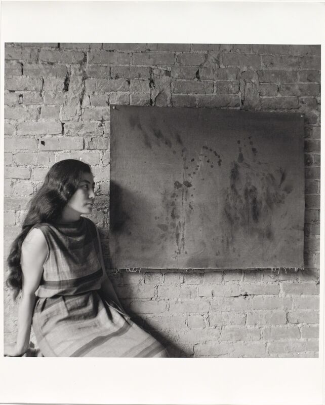 George Maciunas, 'Painting to See in the Dark (Version 1) (Installation view)', 1961, Photography, The Museum of Modern Art