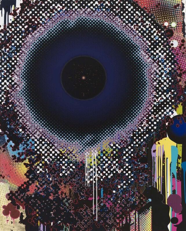 Takashi Murakami, 'Warp', 2009, Print, Offset lithograph on paper, Hang-Up Gallery