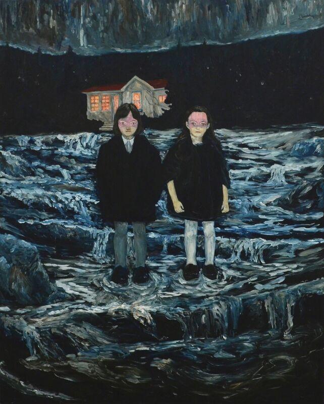 Koutaro Inoue, '破線の時間、濁眠', 2015, Painting, Oil on canvas, KOKI ARTS
