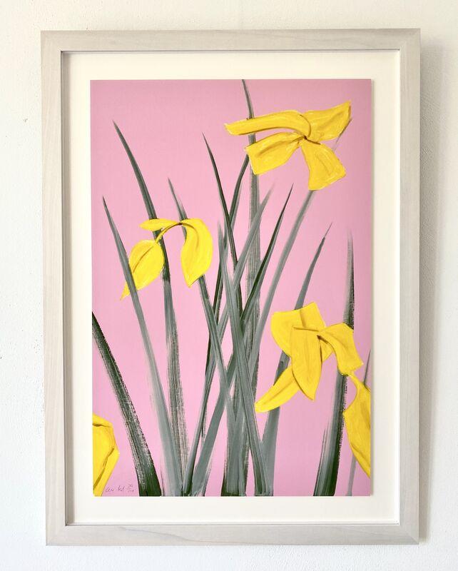 Alex Katz, 'Yellow Flags 3', 2019, Print, Archival pigment ink on Innova Etching Cotton Rag 315 gsm fine art paper, Van der Vorst- Art