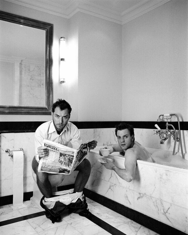 Lorenzo Agius, 'Jude and Ewan in the Bathroom', 2003, Photography, Digital C-Type print, Alon Zakaim Fine Art