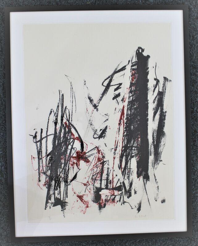 Joan Mitchell, 'Arbes (Red &  Black )', 1991-92, Print, Lithograph, Hal Katzen Gallery