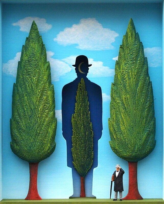 Volker Kühn, 'The Garden of Magritte ', Mixed Media, Mixed media, Plus One Gallery