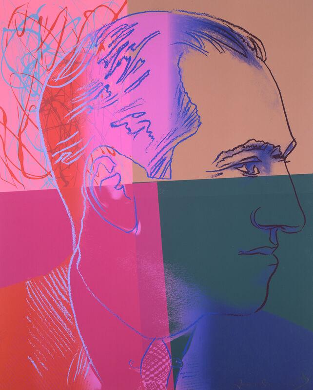 Andy Warhol, 'George Gershwin', 1980, Print, Screenprint, Ronald Feldman Gallery