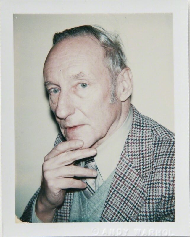 Andy Warhol, 'Andy Warhol, Polaroid Portrait of William S. Burroughs, 1980', 1980, Photography, Polaroid, Hedges Projects