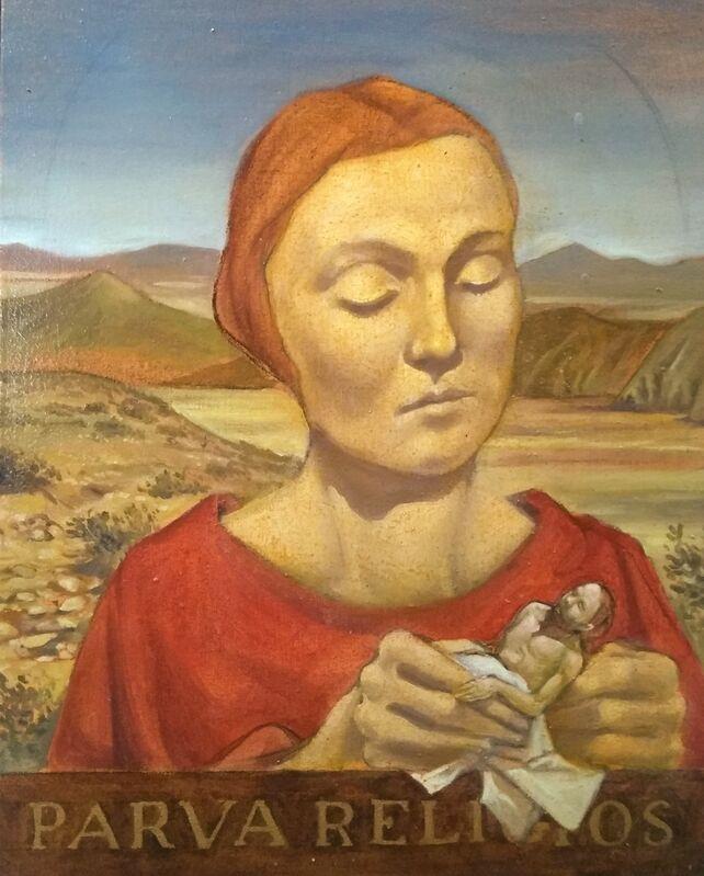 Sam Vaughan, 'Death Valley Madonna', 2020, Painting, Oil on Canvas, McVarish Gallery