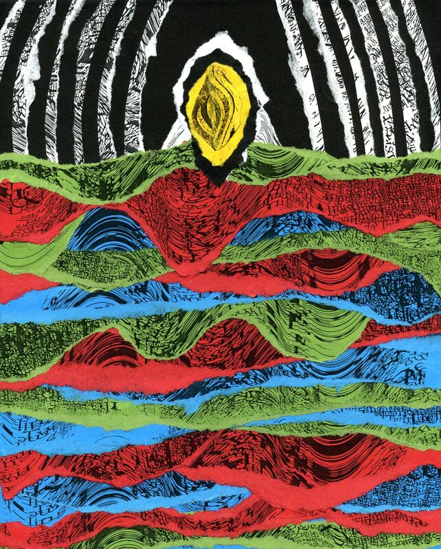 Christina Galbiati, 'Mood', 2018, Painting, Collage, Alessandro Berni Gallery