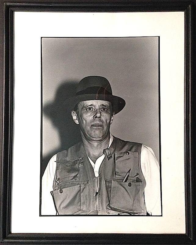 Paul Garrin, 'Joseph Beuys, at Cooper Union', 1980, Photography, Silver gelatin print, IFAC Arts