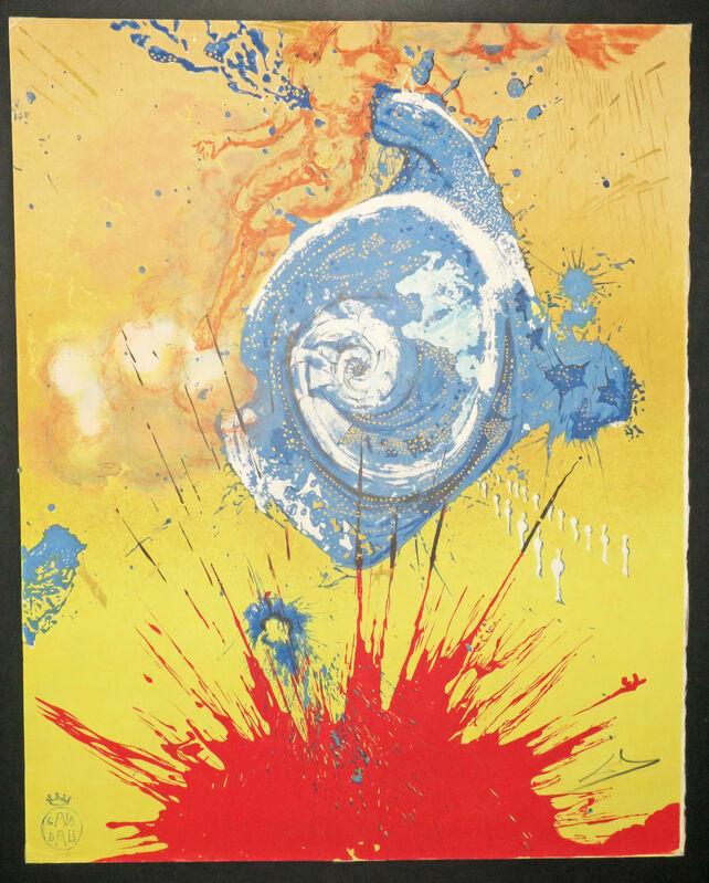 Salvador Dalí, 'Aurore, Don Quichotte. ', 1957, Print, Original lithograph, printed in colors., Martinez D.