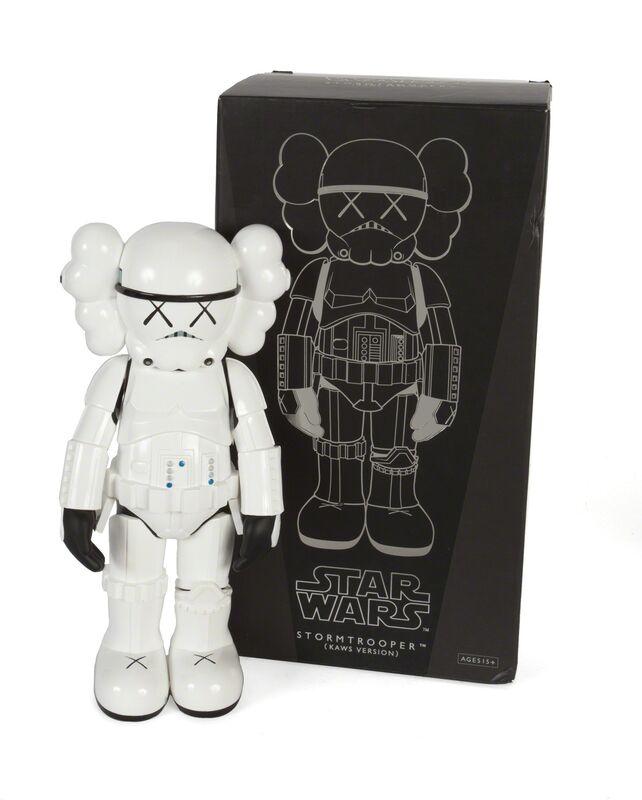 KAWS, 'Stormtrooper - KAWS Version', 2008, Design/Decorative Art, Cast vinyl sculpture, Julien's Auctions