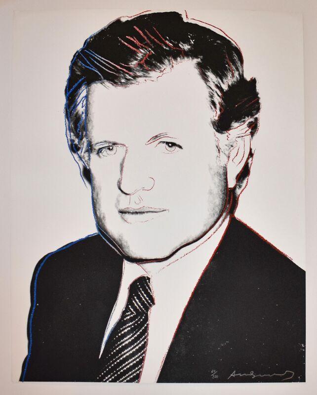 Andy Warhol, 'Edward Kennedy', 1980, Print, Screenprint, Georgetown Frame Shoppe