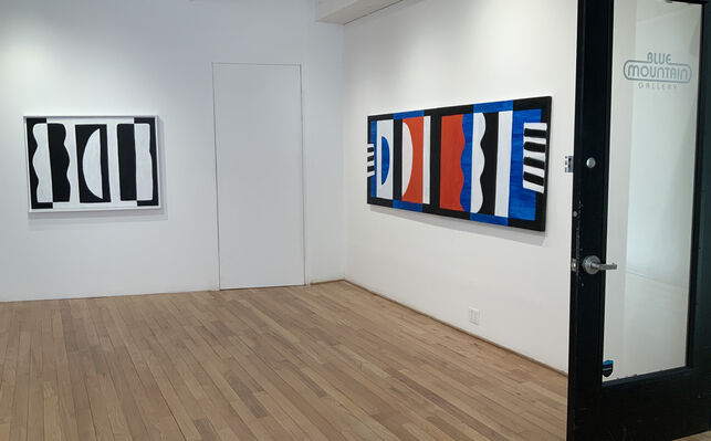 Janet Sawyer: Paintings, installation view