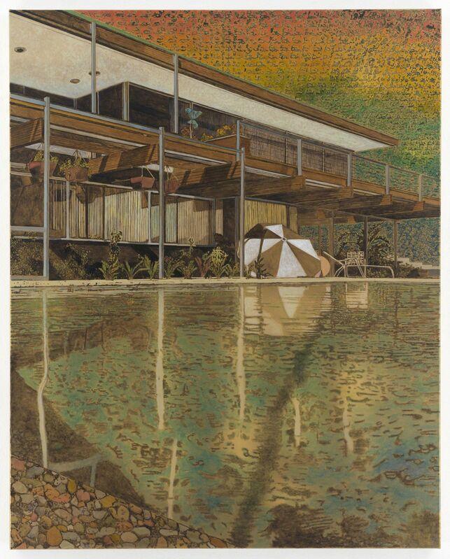 Stefan Kürten, 'Ray of Light', 2015, Painting, Ink and acrylic on linen, Alexander and Bonin