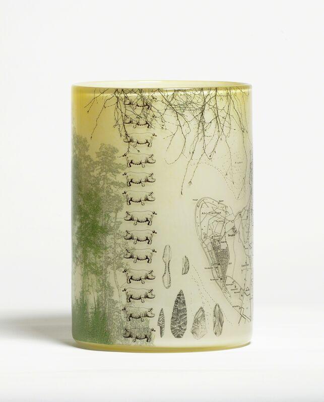 Steffen Dam & Micha Karlslund, 'THE NORTH', 2016, Design/Decorative Art, Glass/enamels, Heller Gallery