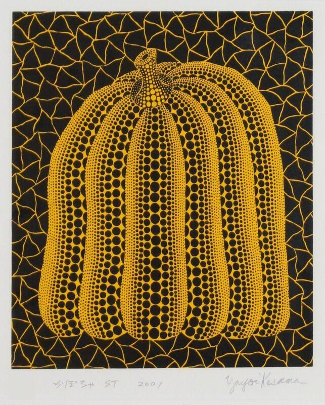 Yayoi Kusama, 'Pumpkin ST', 2001, Print, Screenprint, Lougher Contemporary