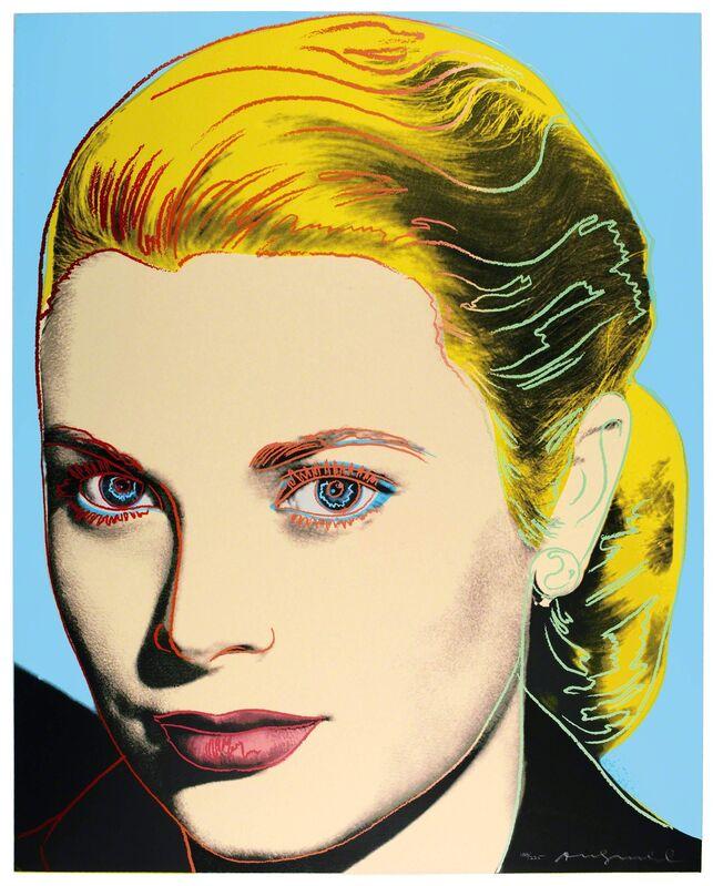 Andy Warhol, 'Grace Kelly', 1984, Print, Screenprint on Lenox Museum Board, Vertu Fine Art