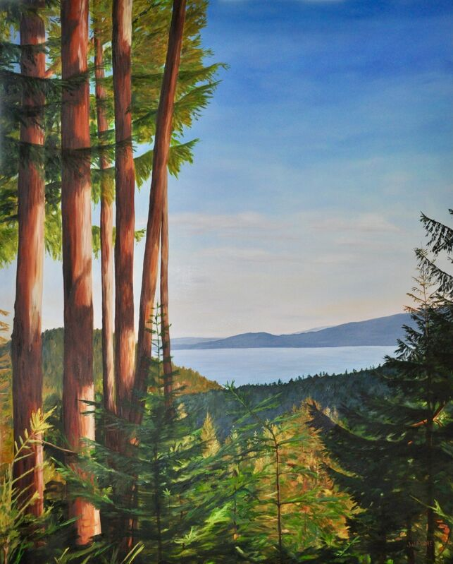 Jody Waldie, 'One Late Afternoon', 2020, Painting, Oil on canvas, Terrill Welch Gallery