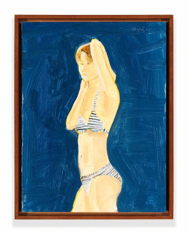 Alex Katz, 'Katherine', 2014, Painting, Oil on board, Richard Gray Gallery