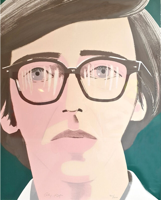 Alex Katz, 'Portrait of a Poet: Kenneth Koch', 1970, Print, Lithograph in colors on Arches, Artsy x Capsule Auctions