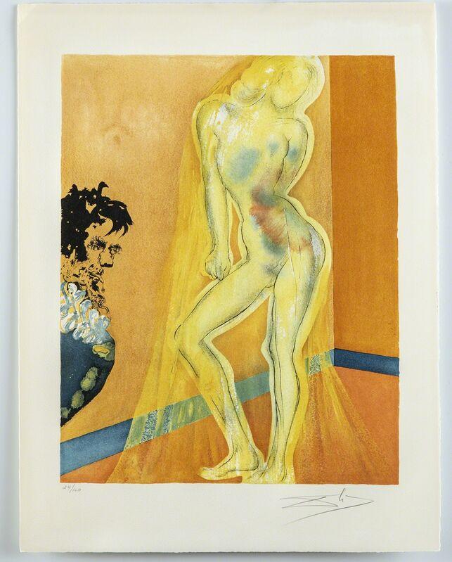 Salvador Dalí, 'The Chevalier's Dream of Cecile', 1969, Print, Print, Modern Artifact