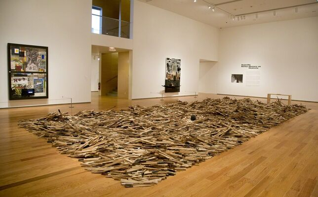 Radcliffe Bailey Memory as Medicine, installation view