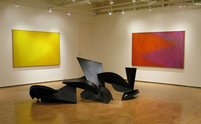 Herbert Ferber: Paintings & Sculpture of the 1960's and '70's, installation view