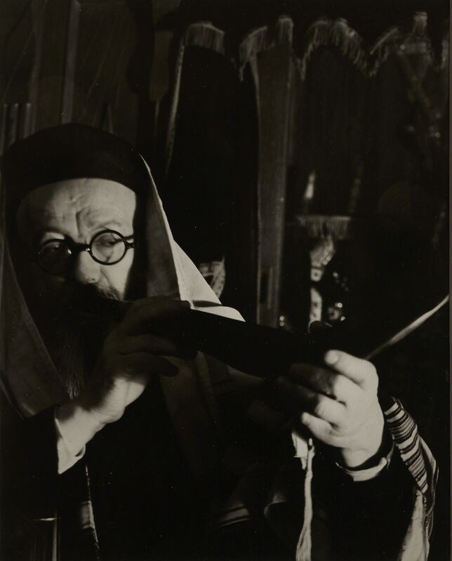 Arnold Eagle, 'Blowing the Shofar', ca. 1935, Photography, Silver gelatin print, Vision Neil Folberg Gallery