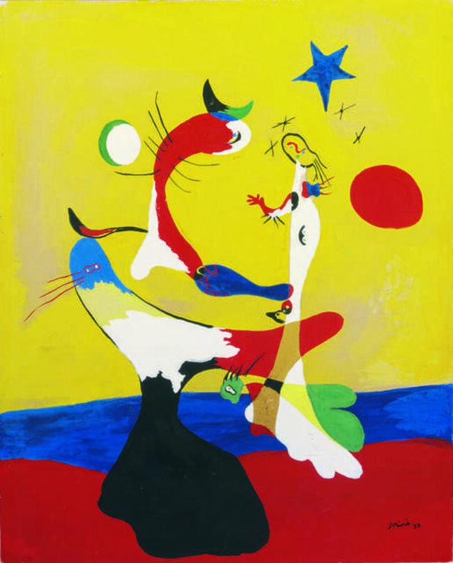 Joan Miró, 'Composition (Petit univers) (Composition, Small Universe)', 1933, Painting, Gouache on cardboard, Fondation Beyeler