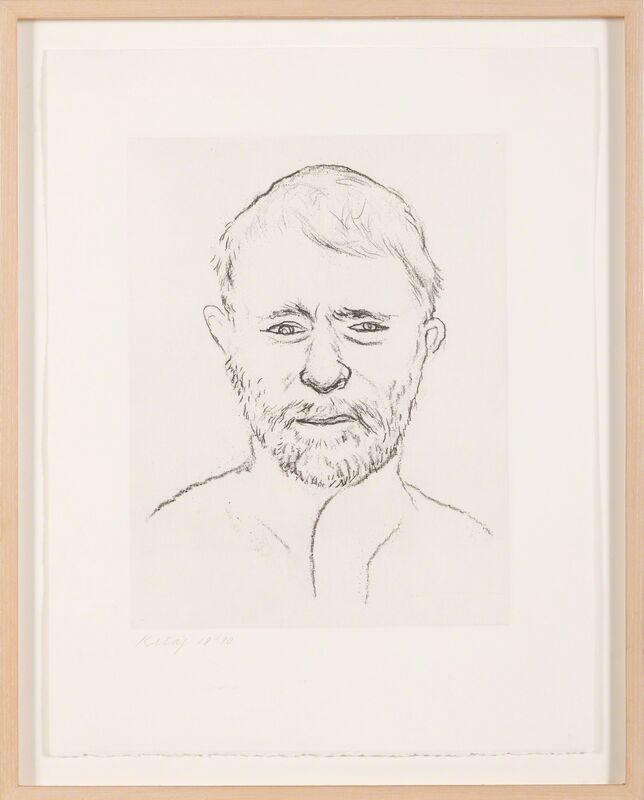 R. B. Kitaj, 'Self-Portrait ', date not known, Print, Etching, Doyle