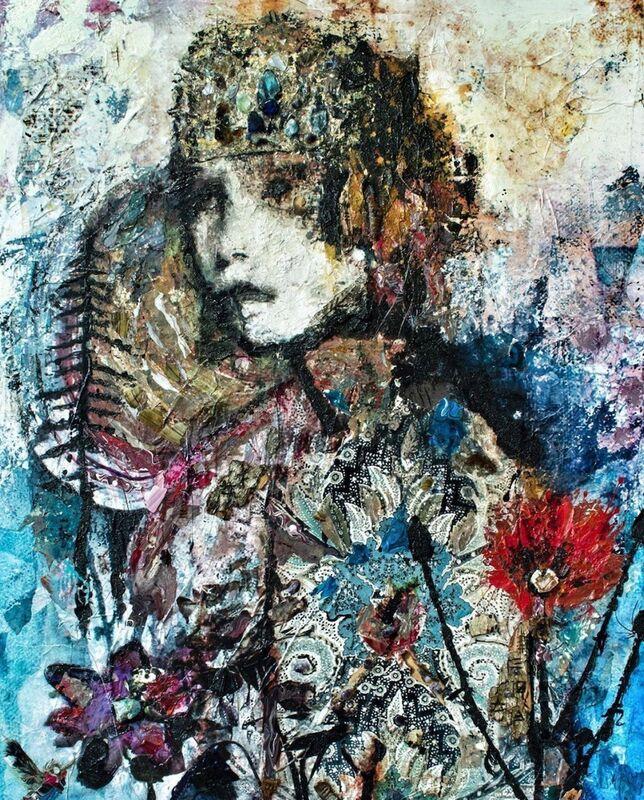 SylT, 'ALYZE', 2020, Painting, Mixed Media on Board, Thompson Landry Gallery