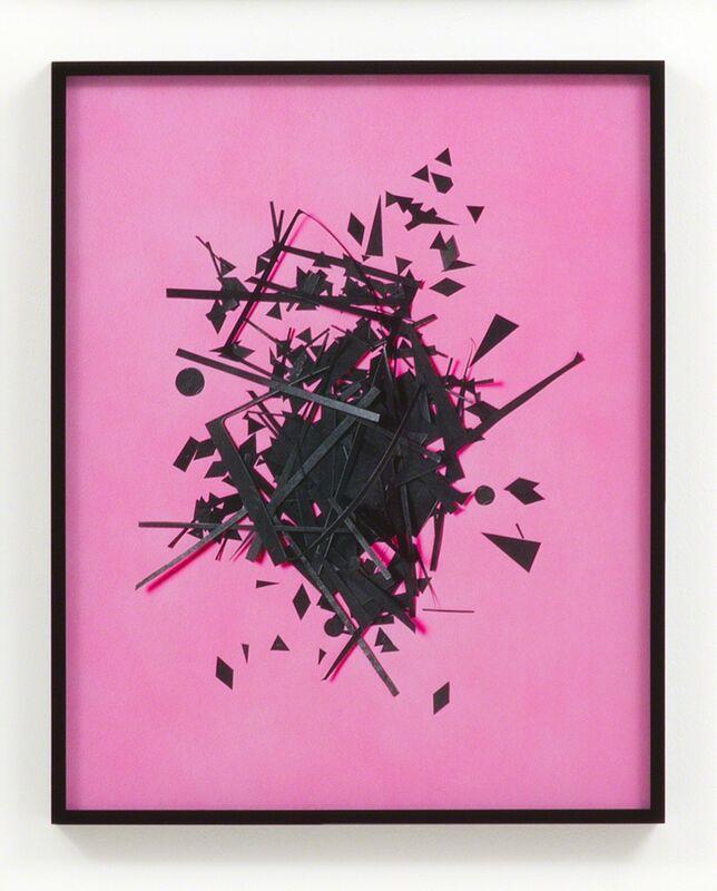 Hannah Whitaker, 'Cutouts (Pink)', 2014, Photography, Archival pigment print, M+B
