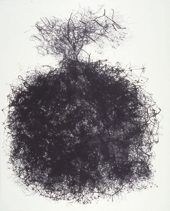 Petah Coyne, 'Untitled', 1990, Print, Lithography, Solo Impression, Inc.