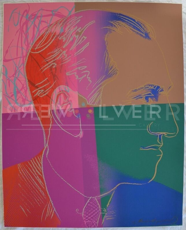 Andy Warhol, 'George Gershwin (FS II.231) Trial Proof', 1980, Print, Screenprint on Lenox Museum Board, Revolver Gallery