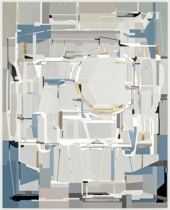 James Kennedy, 'Circum', 2015, Painting, Acrylic polymer on incised masonite, Callan Contemporary