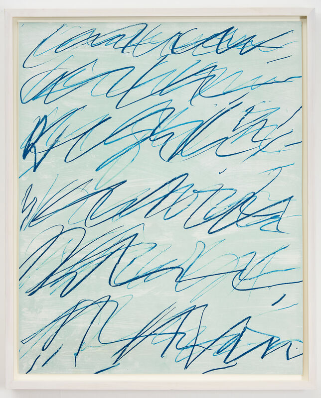 Cy Twombly, 'ROMAN NOTES I', 1970, Print, Color offset lithograph, Ronchini Gallery