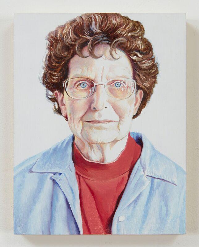 Jim Torok, 'Mom', 2015, Painting, Oil on panel, Lora Reynolds Gallery