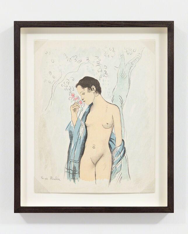 Francis Picabia, 'Menu',  1932, Print, Lithograph, Richard Saltoun