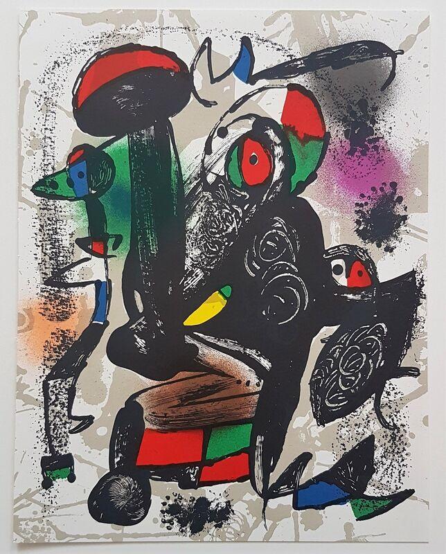 Joan Miró, 'Lithographie Originale III', 1981, Print, Color Lithograph, Cerbera Gallery