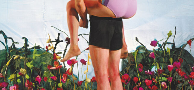 Sabine Dehnel, 'Spaziergang III', 2003