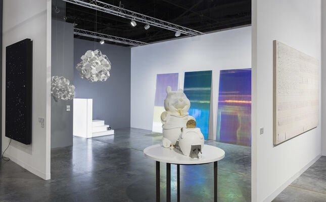 Esther Schipper at Art Basel in Miami Beach 2019, installation view
