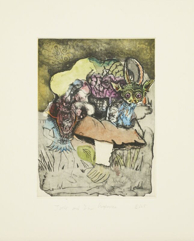Jake & Dinos Chapman, 'Untitled 06 from Bedtime Tales for Sleepless Nights', 2013, Print, Colour etching, Paragon